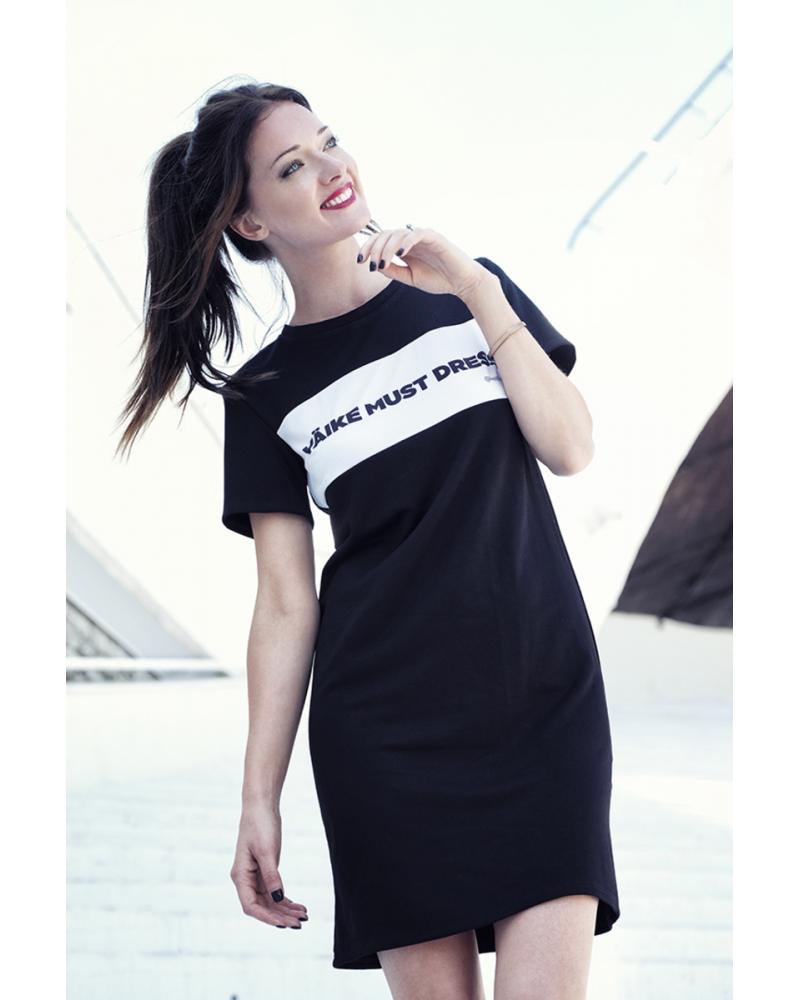 CUSTOM SLOGAN - VÄIKE MUST DRESS