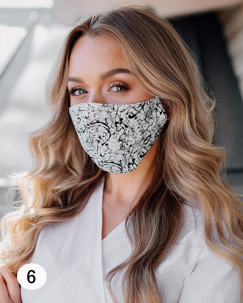 PINK MASK: CHOOSE YOUR MASK 3 PIECE IN 1 ORDER