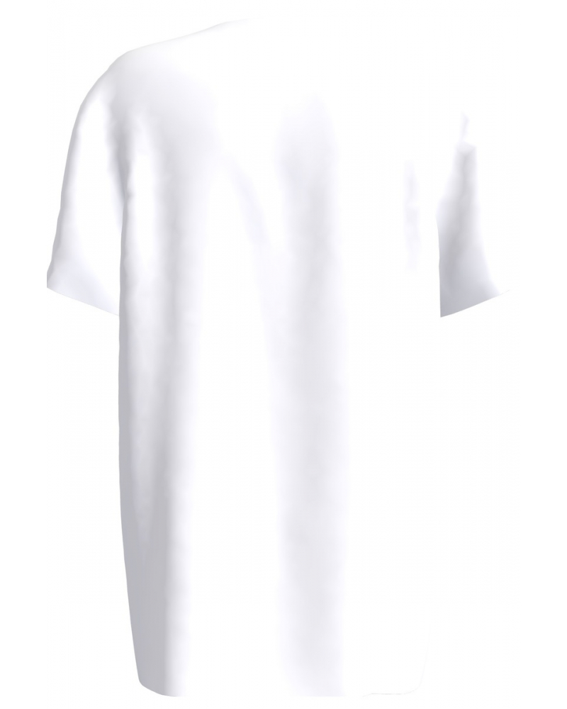 WHITE DONT BE A DICK PRINT T-SHIRT