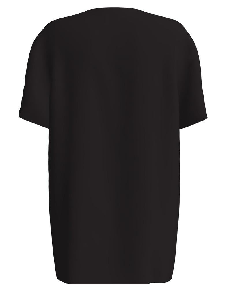SHIBA BLACK PRINT T-SHIRT