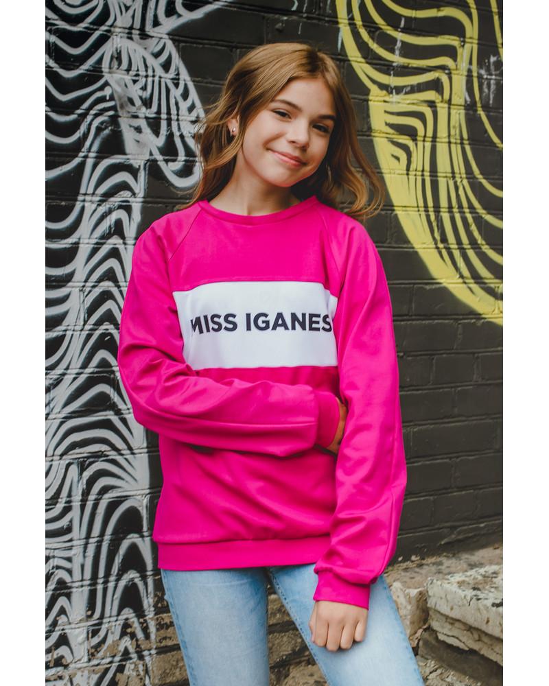 MISS IGANES KIDS SWEATSHIRT FUCHSIA