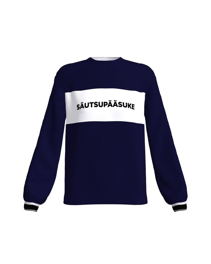 SÄUTSUPÄÄSUKE SWEATSHIRT BLUE STRIPE