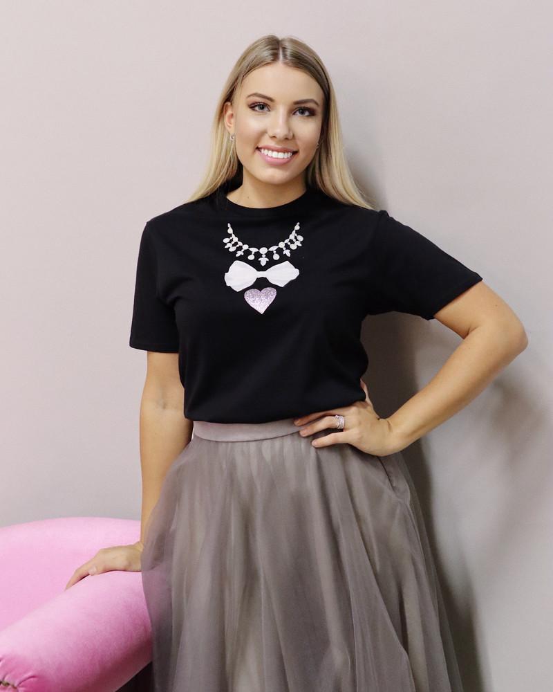 Glam t-shirt black