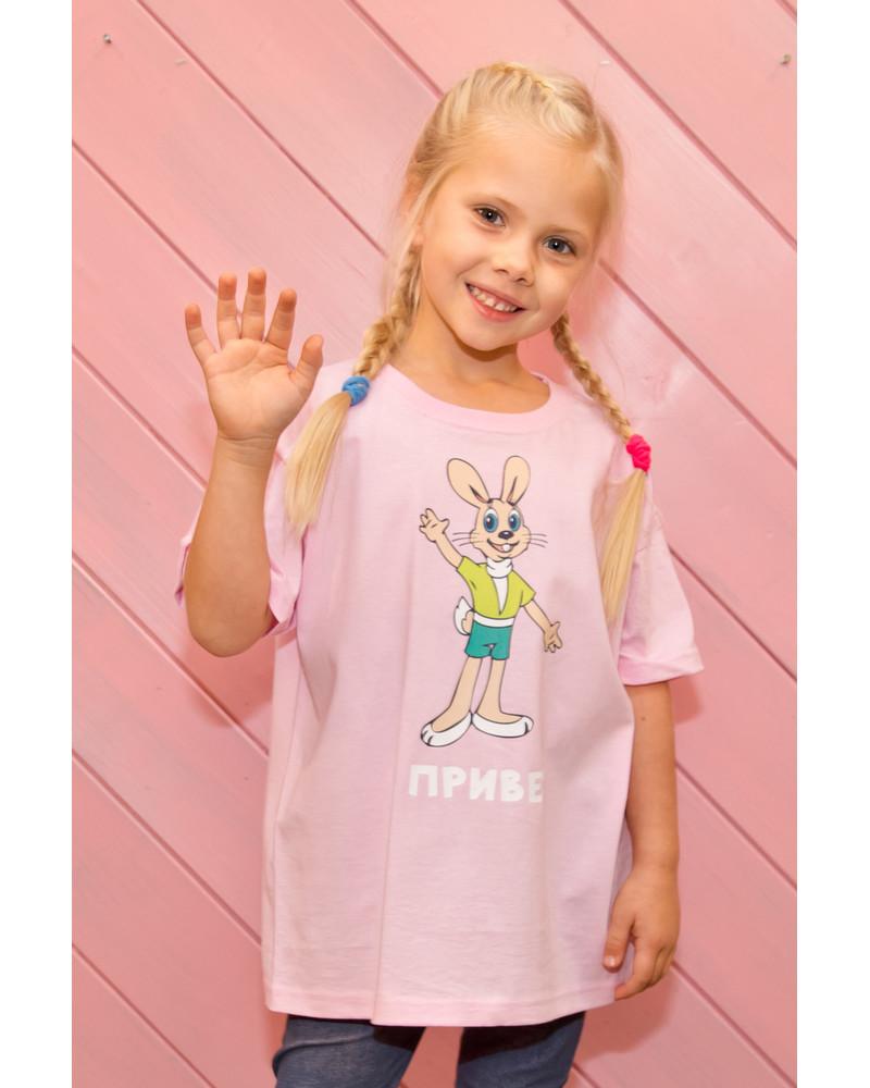 PRIVET KIDS T-SHIRT PINK