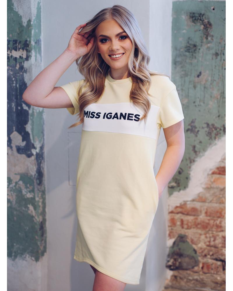 MISS IGANES DRESS LIGHT YELLOW