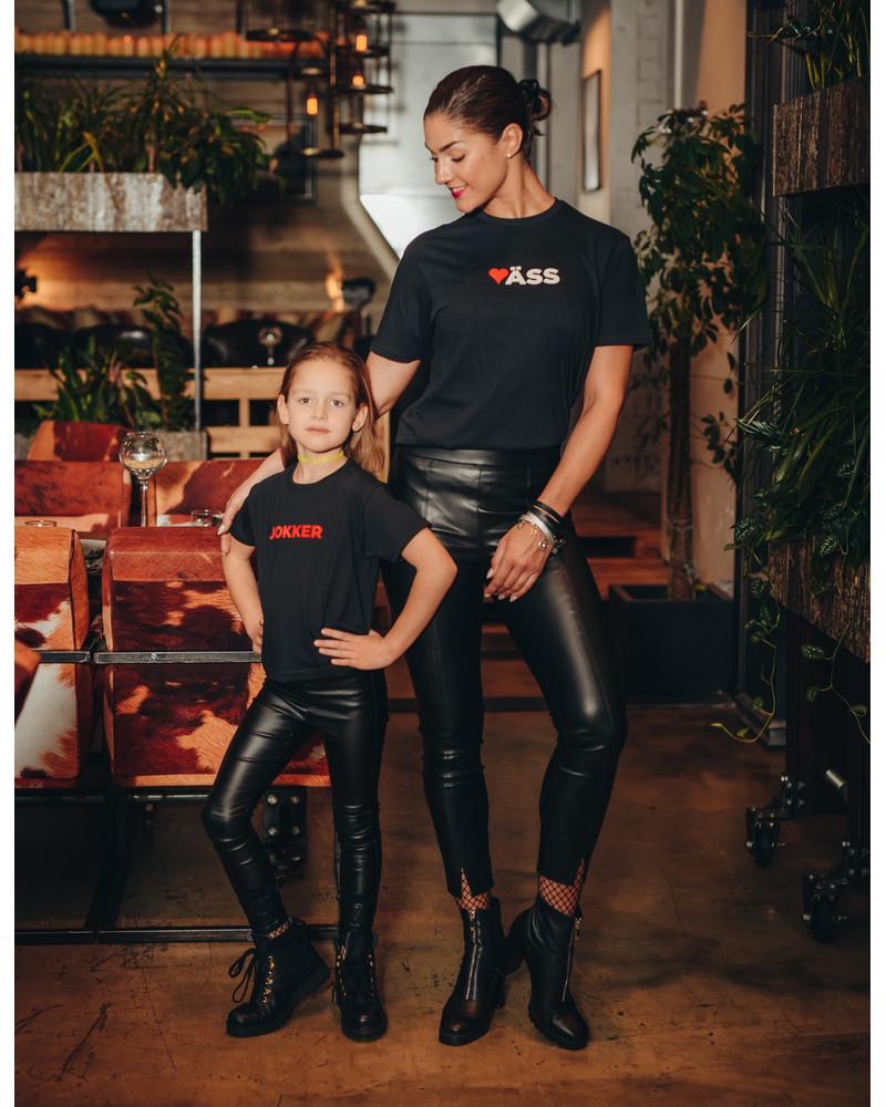 KUNN UNISEX T-SHIRT BLACK