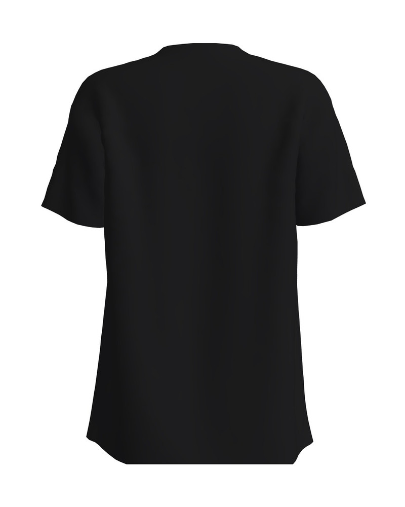 FOX PRINT T-SHIRT BLACK