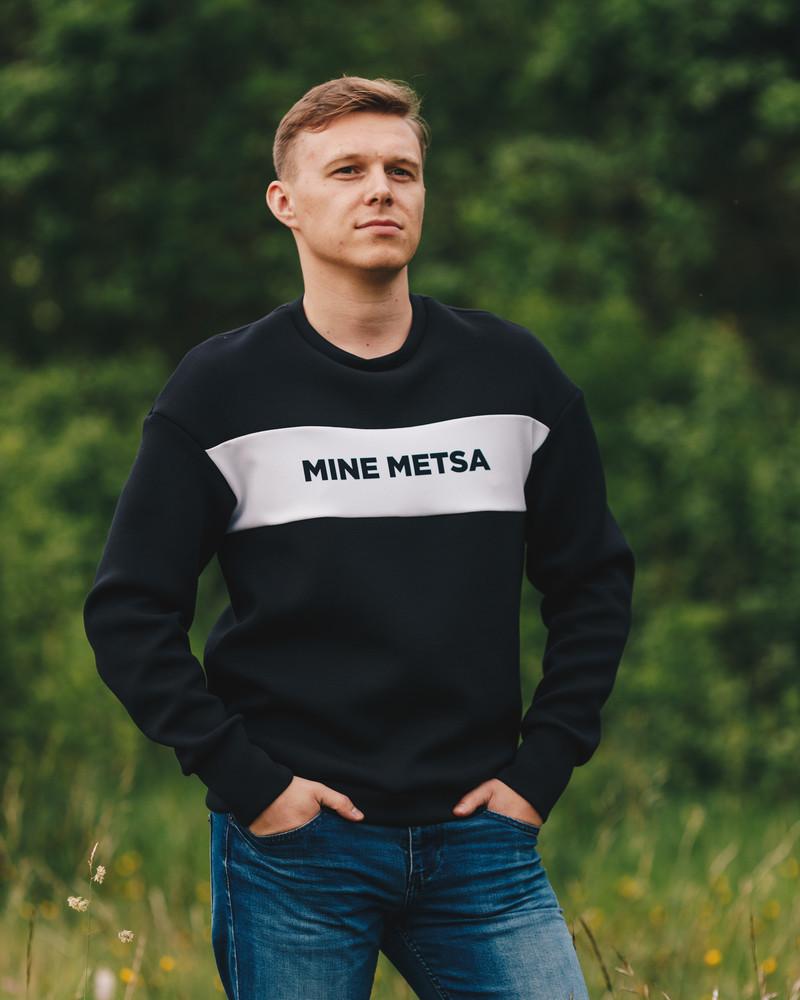 MEN MINE METSA SWEATSHIRT BLACK