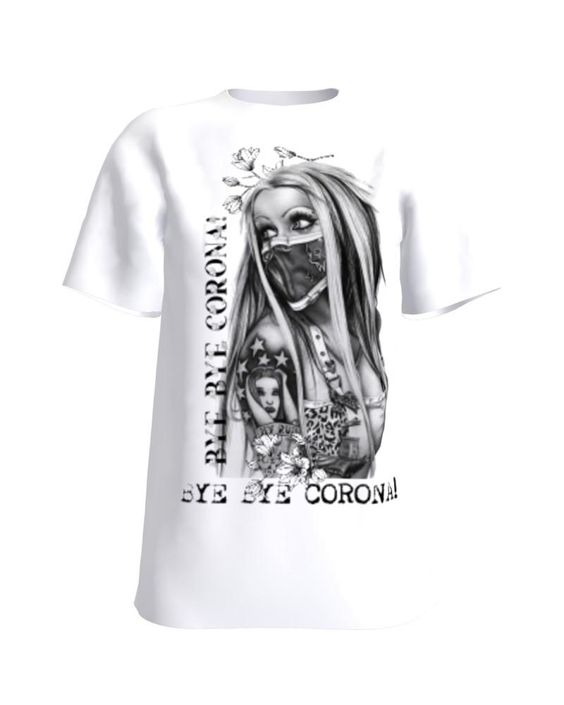 Bye Bye Corona! T-Shirt H UNISEX white