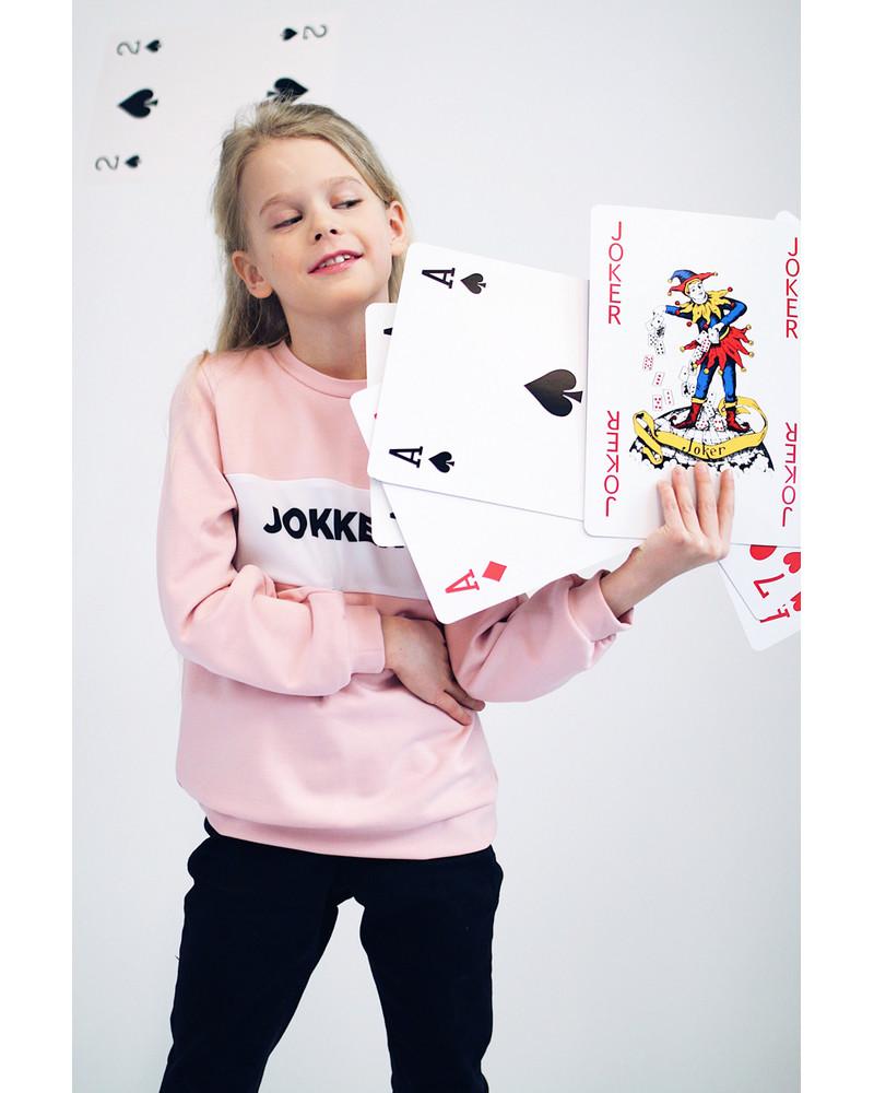 JOKKER PINK SWEATER FOR GIRLS