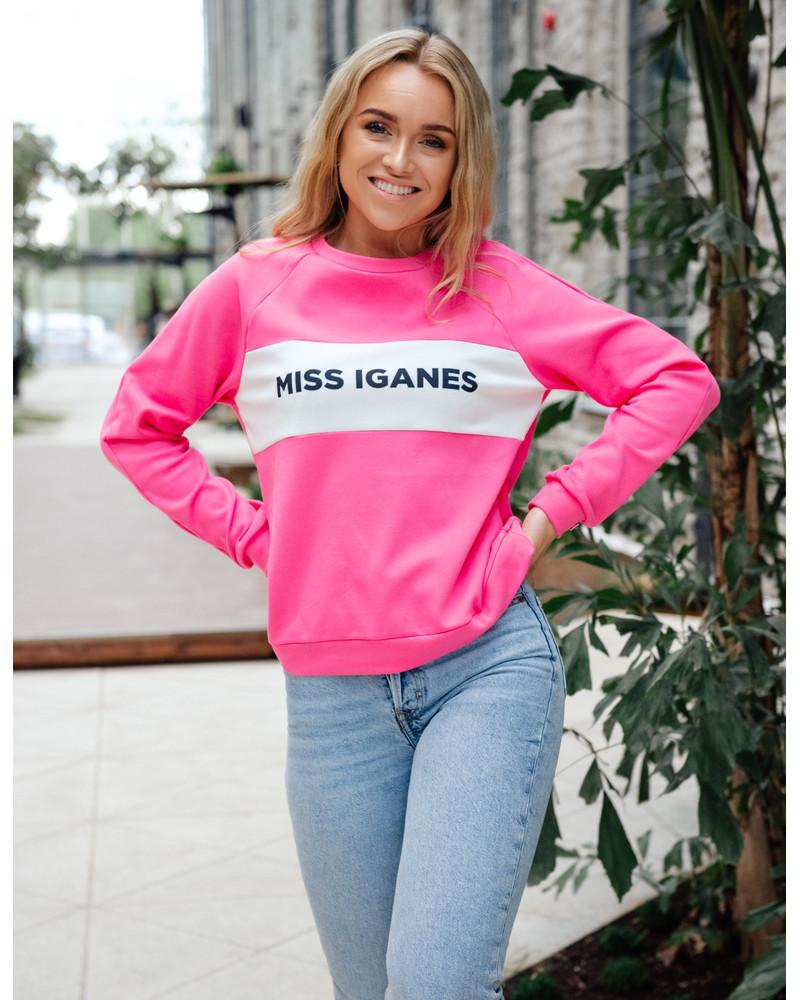 MISS IGANES RAGLAN SWEATSHIRT FUCHSIA