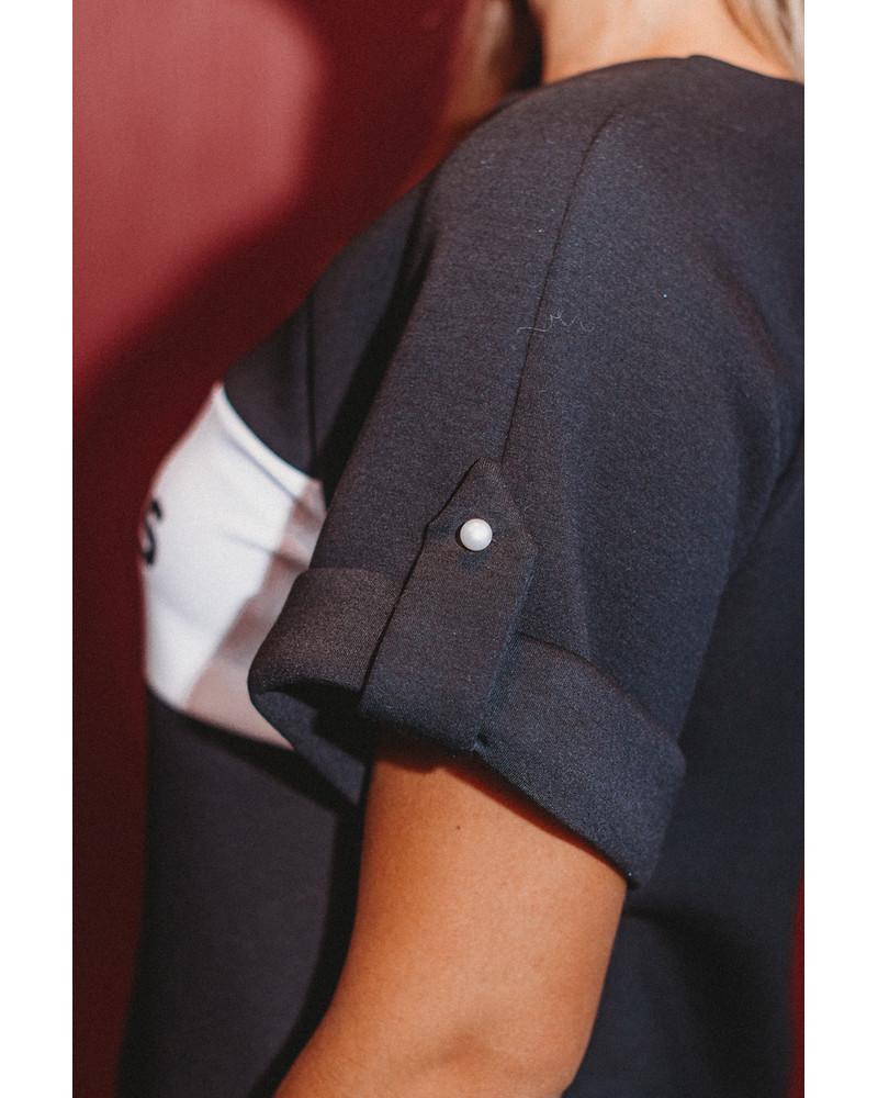 CUSTOM PEARL RAGLAN DRESS