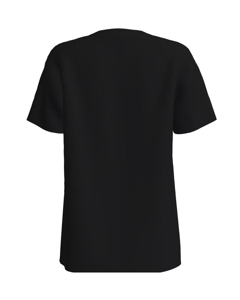 UNICORN IN POCKET UNISEX T-SHIRT BLACK