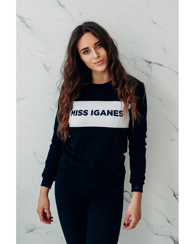 MISS IGANES BLACK SWEATER