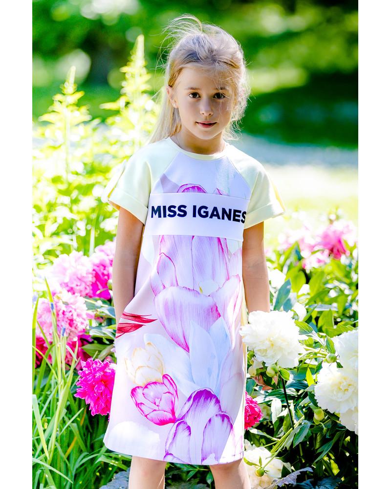 MISS IGANES AKINDE KIDS DRESS YELLOW