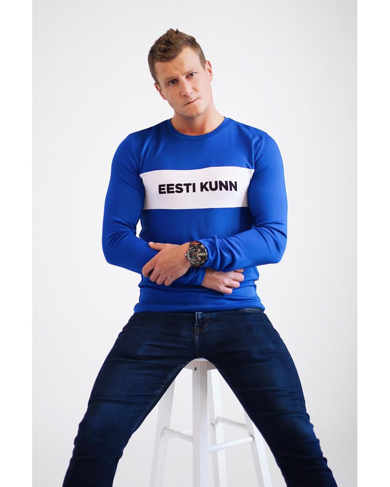 EESTI KUNN BLUE SWEATER FOR MEN