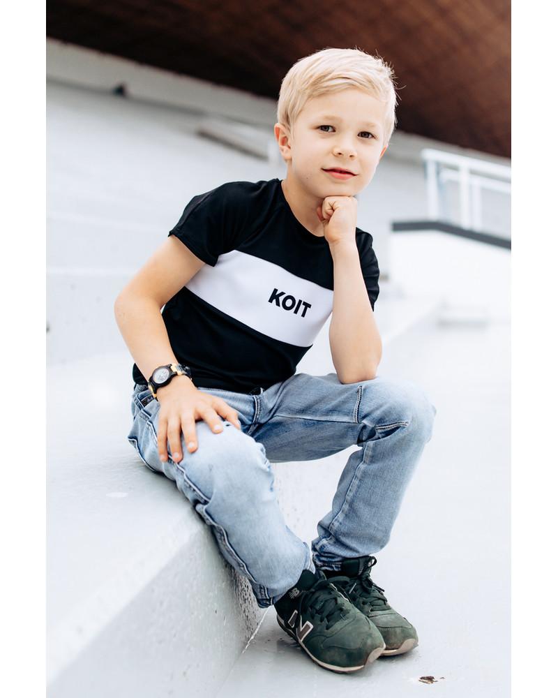 KOIT KIDS T-SHIRT BLACK