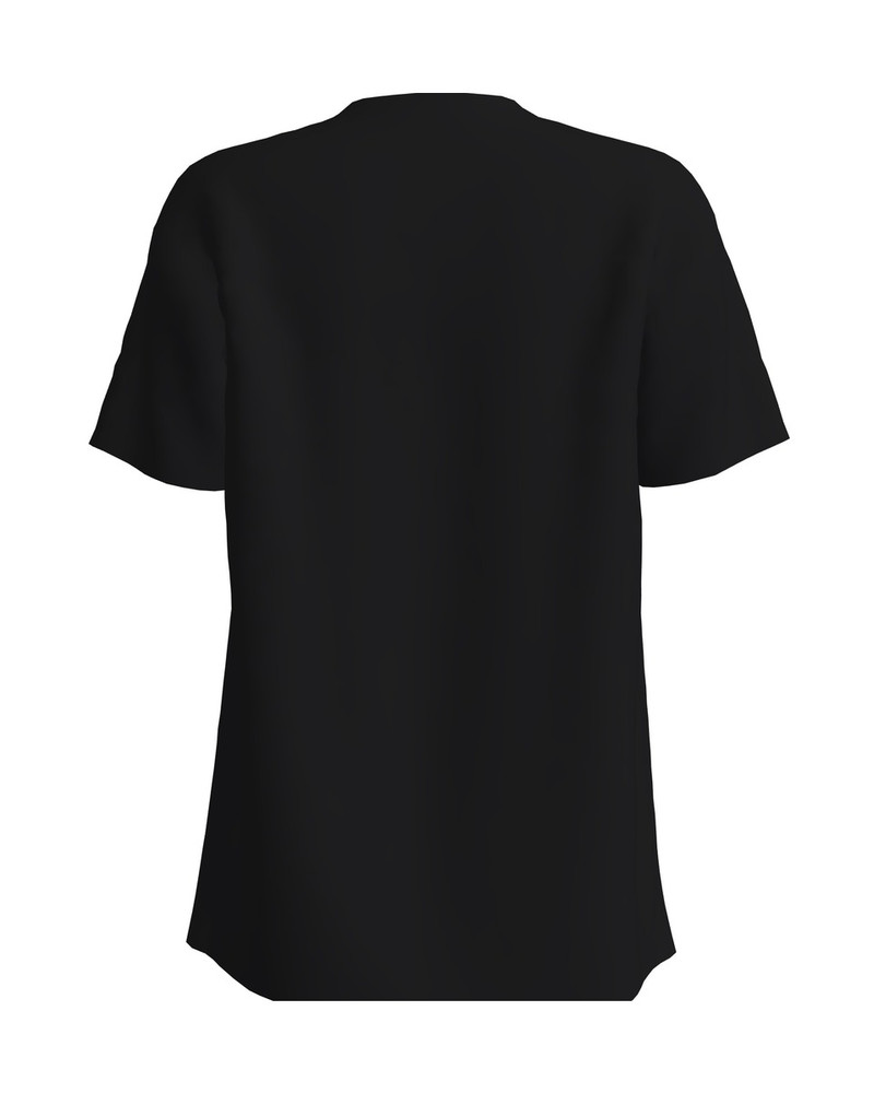SUPERMEES BLACK PRINT T-SHIRT