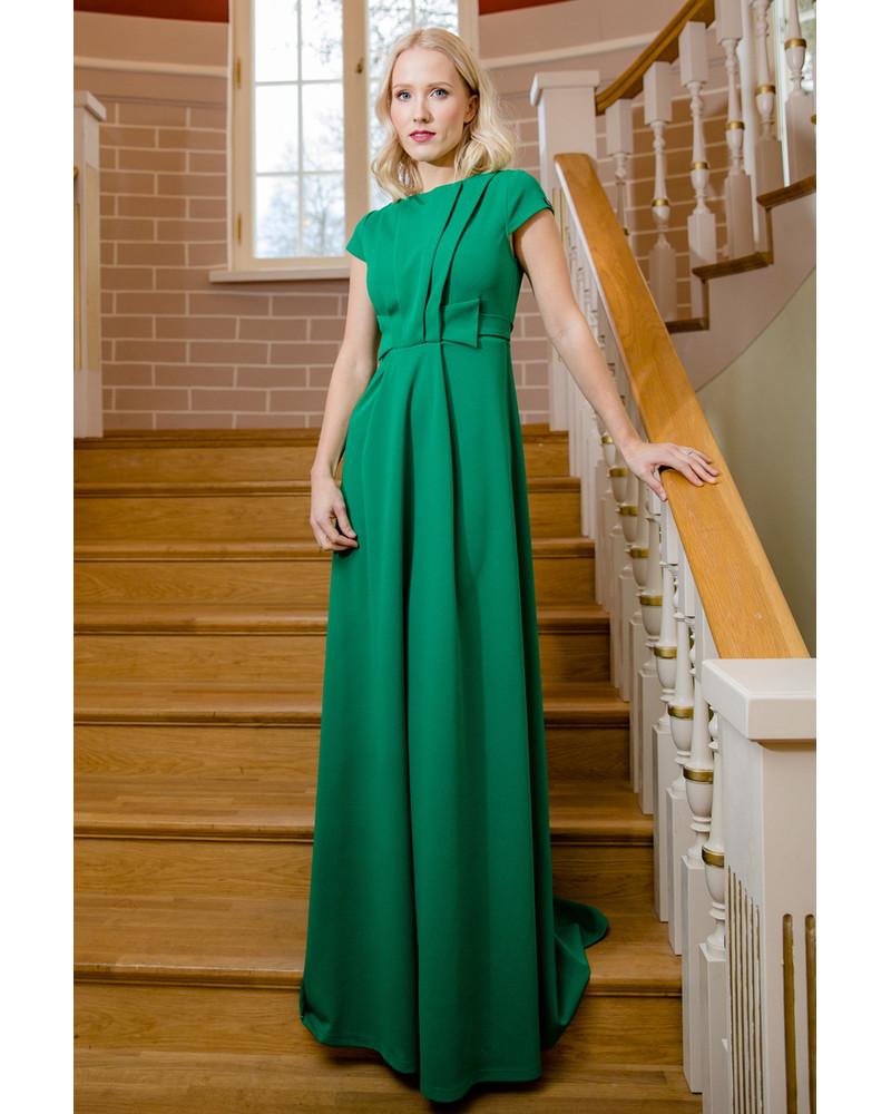 GREEN CLASSY MAXI DRESS