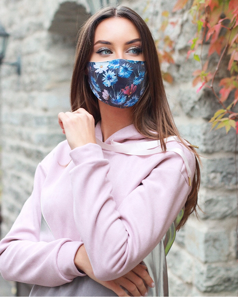 CORNFLOWER MASK- 1 PIECE