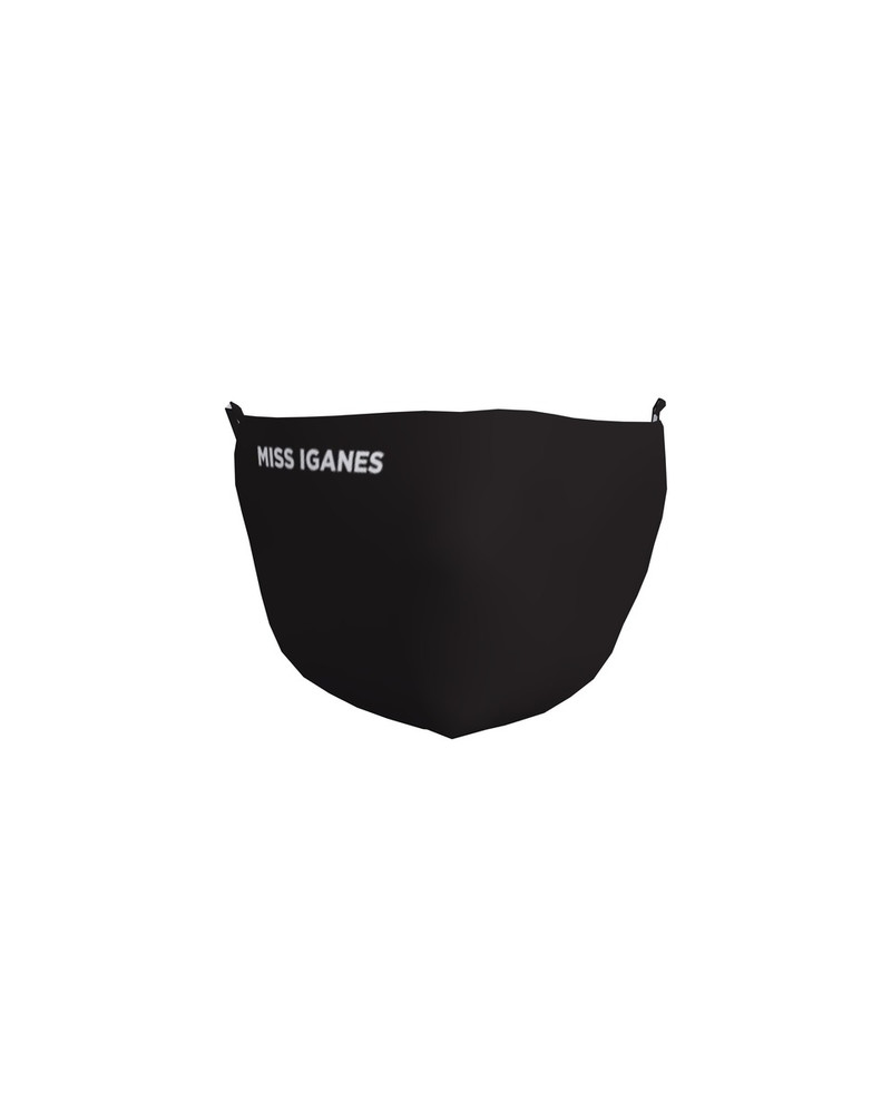 FACE MASK MISS IGANES BLACK -1 PIECE
