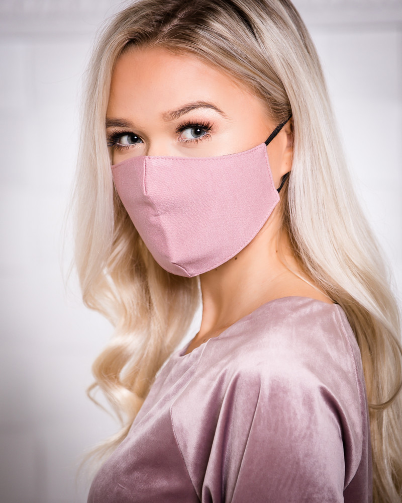 FACE MASK PINK - 1 PIECE