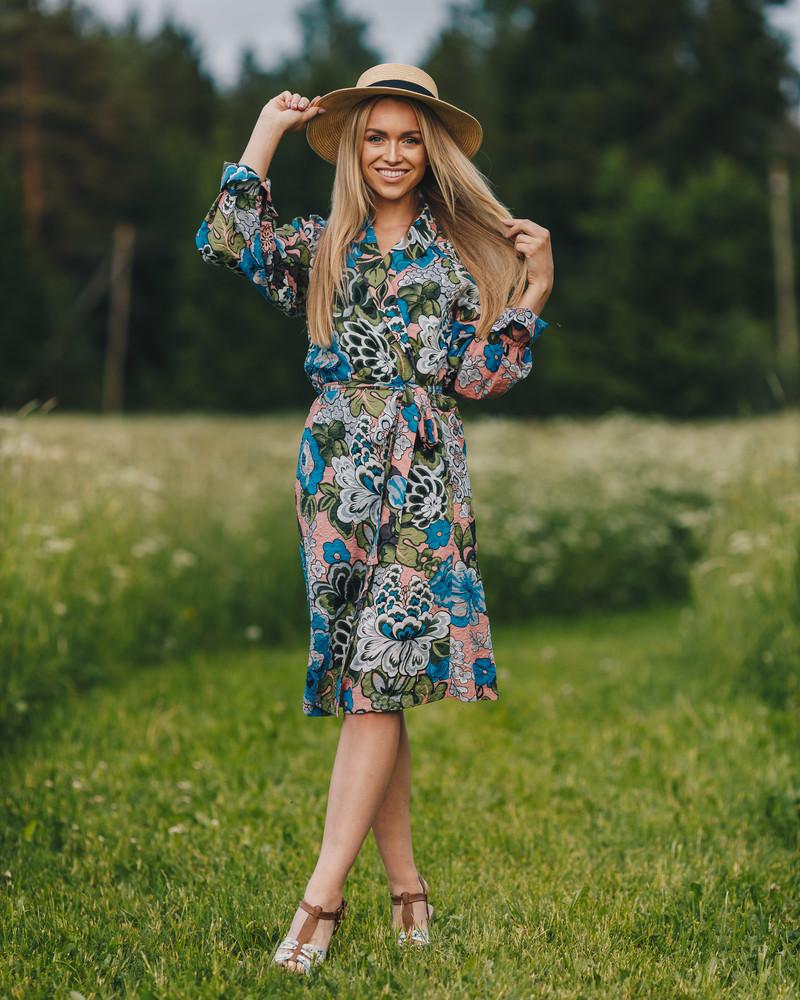 MAGIC FLOWER DRESS