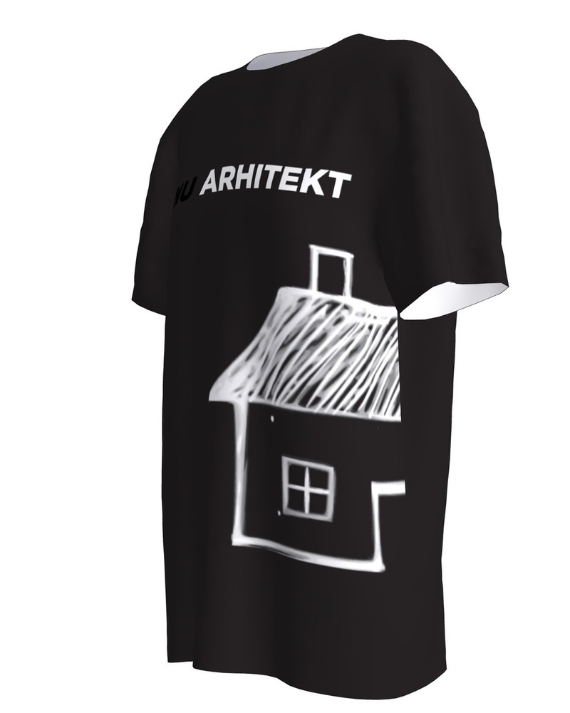 Sinu Arhitekt Black T-Shirt
