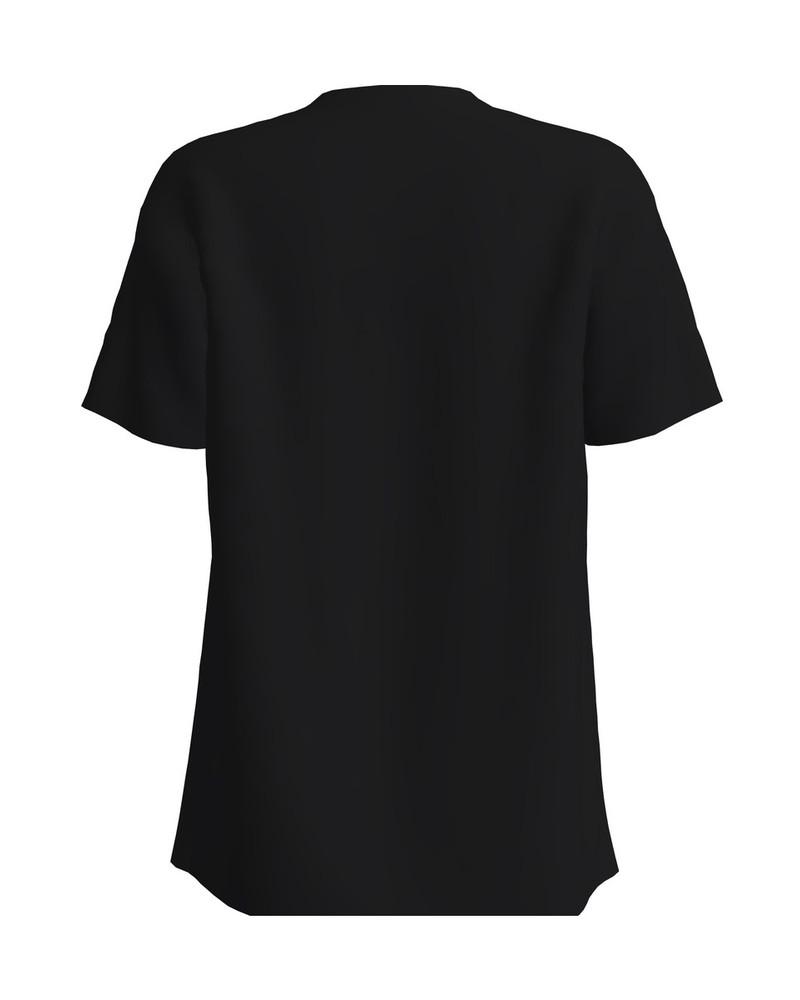 SUPERISA BLACK PRINT T-SHIRT