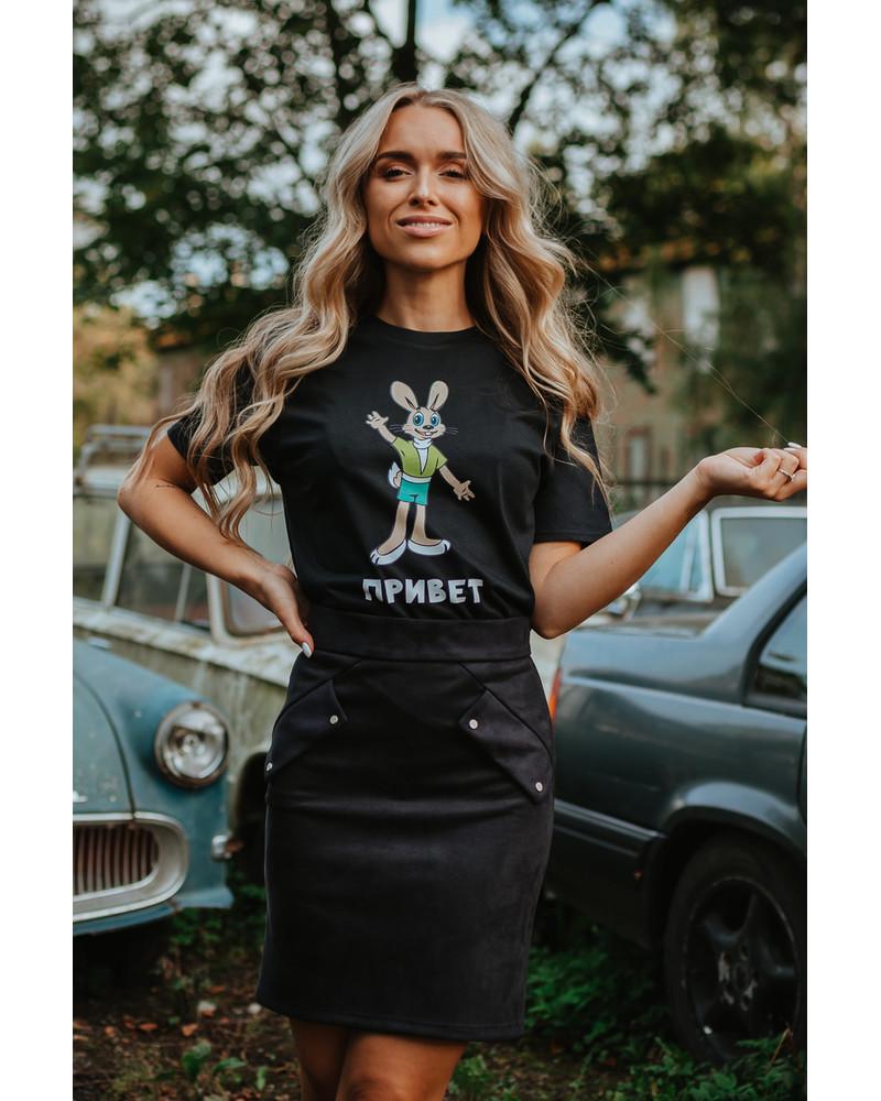 PRIVET UNISEX T-SHIRT BLACK