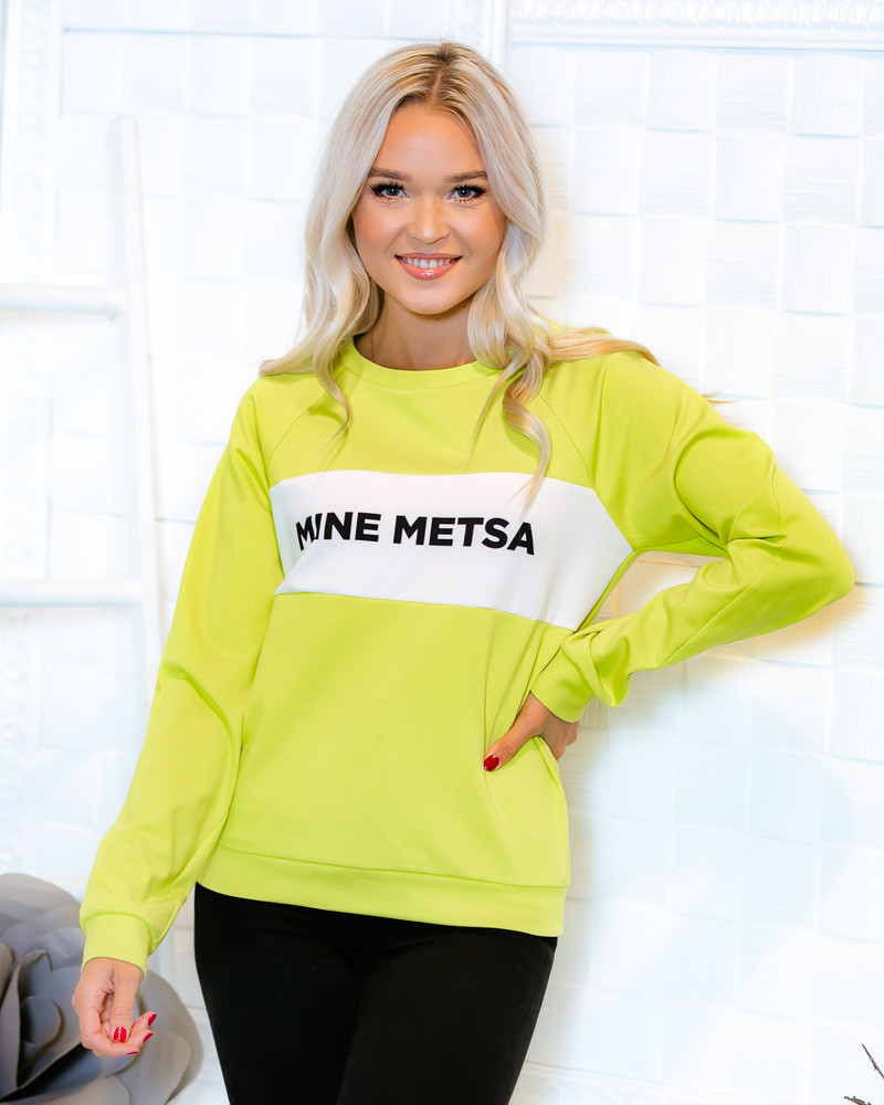 GREEN MINE METSA RAGLAN SWEATER