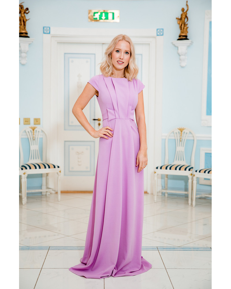 LILAC CLASSY MAXI DRESS