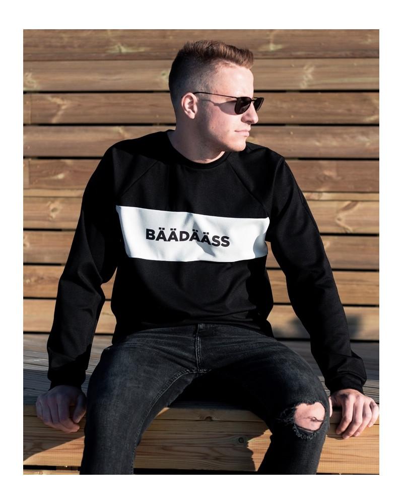 BÄÄDÄÄSS BLACK SWEATER