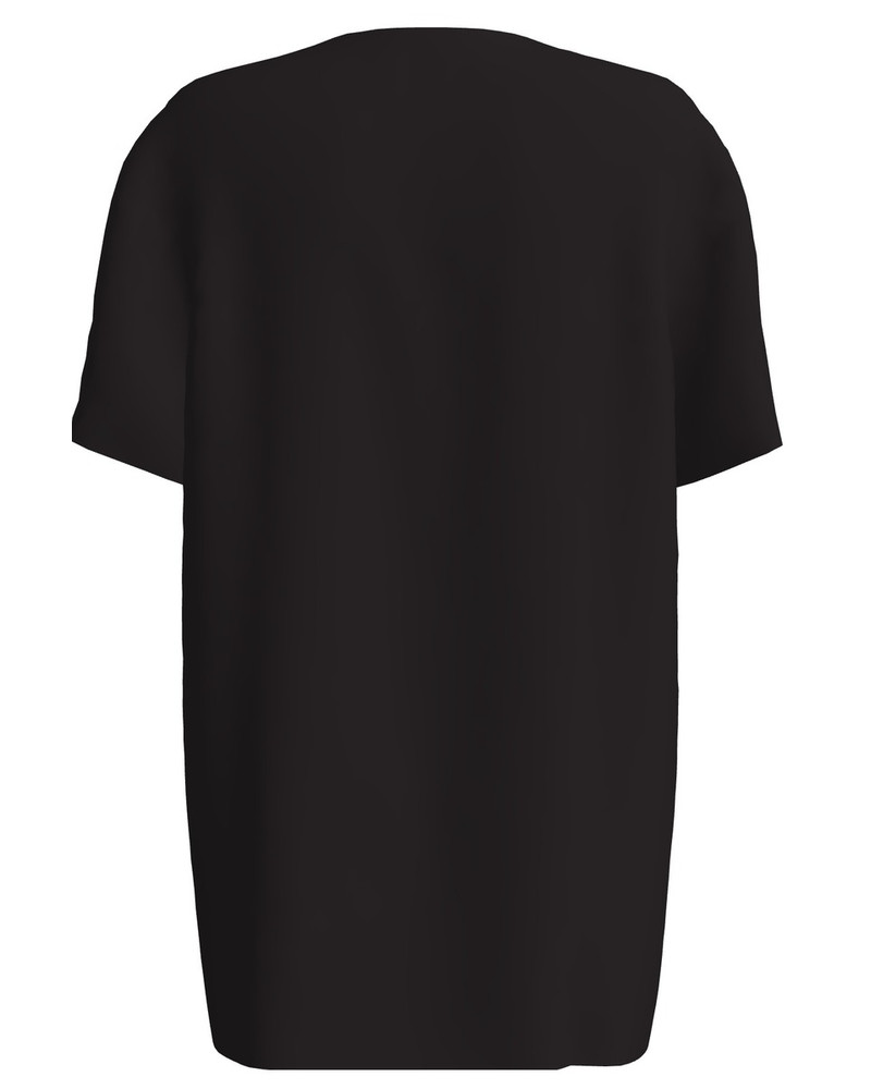ANIMAL NOT ENEMY POCKET UNISEX T-SHIRT BLACK
