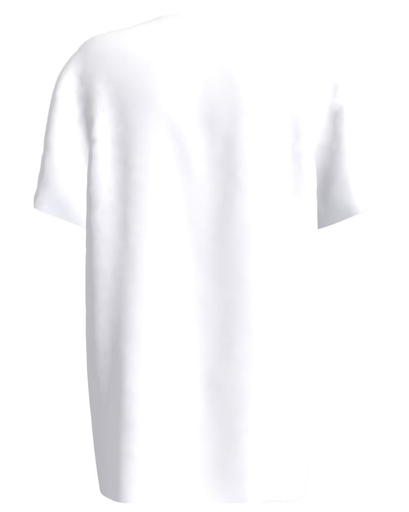 RABBIT WITH SUNGLASSES UNISEX T-SHIRT WHITE