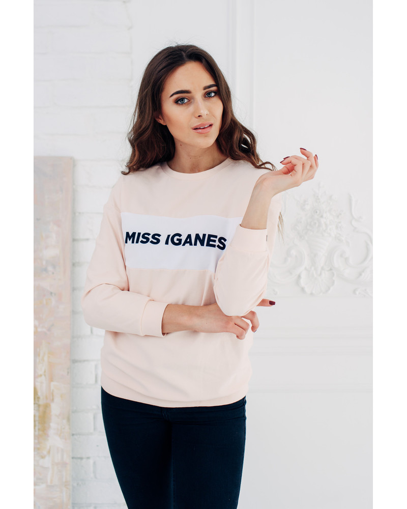 MISS IGANES PEACHY OVERSIZE SWEATER
