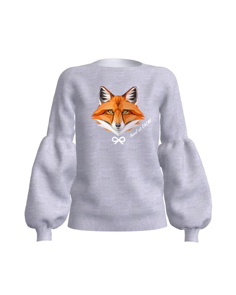ANIMAL NOT ENEMY FOX ALICE SWEATSHIRT