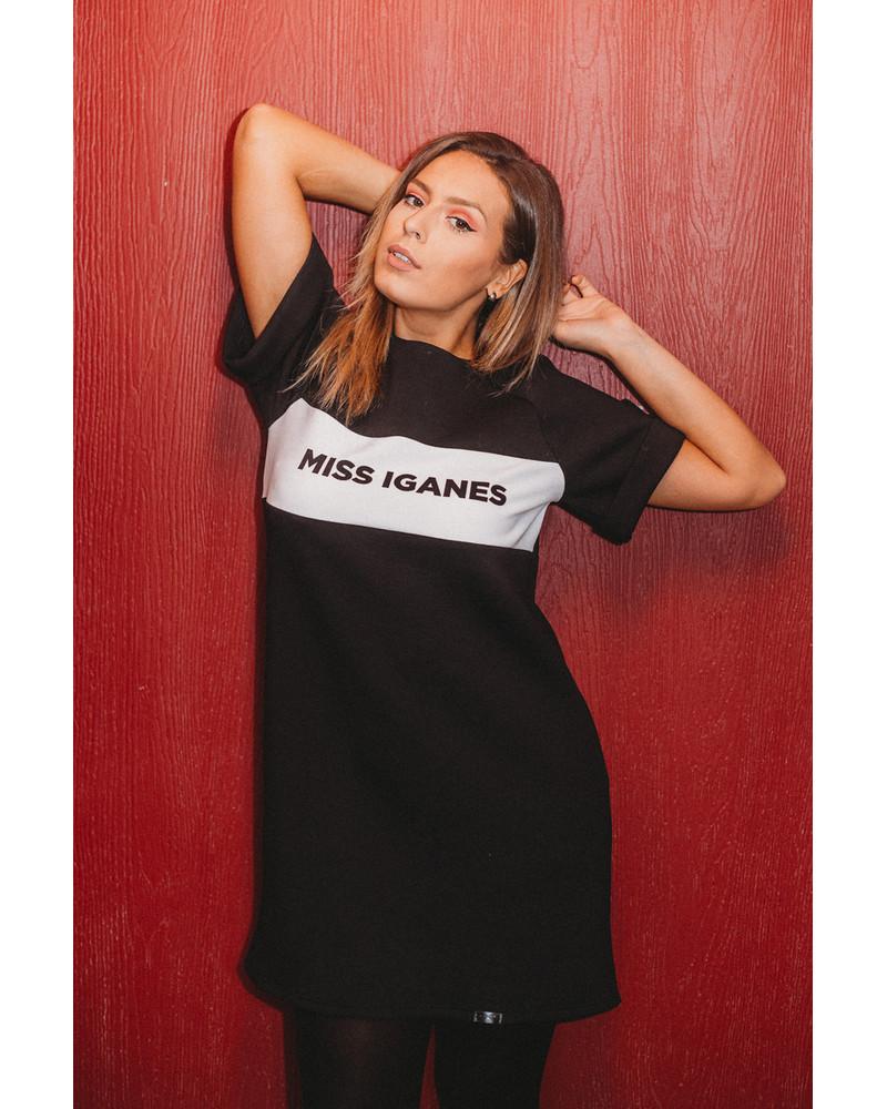 MISS IGANES PEARL POCKET DRESS