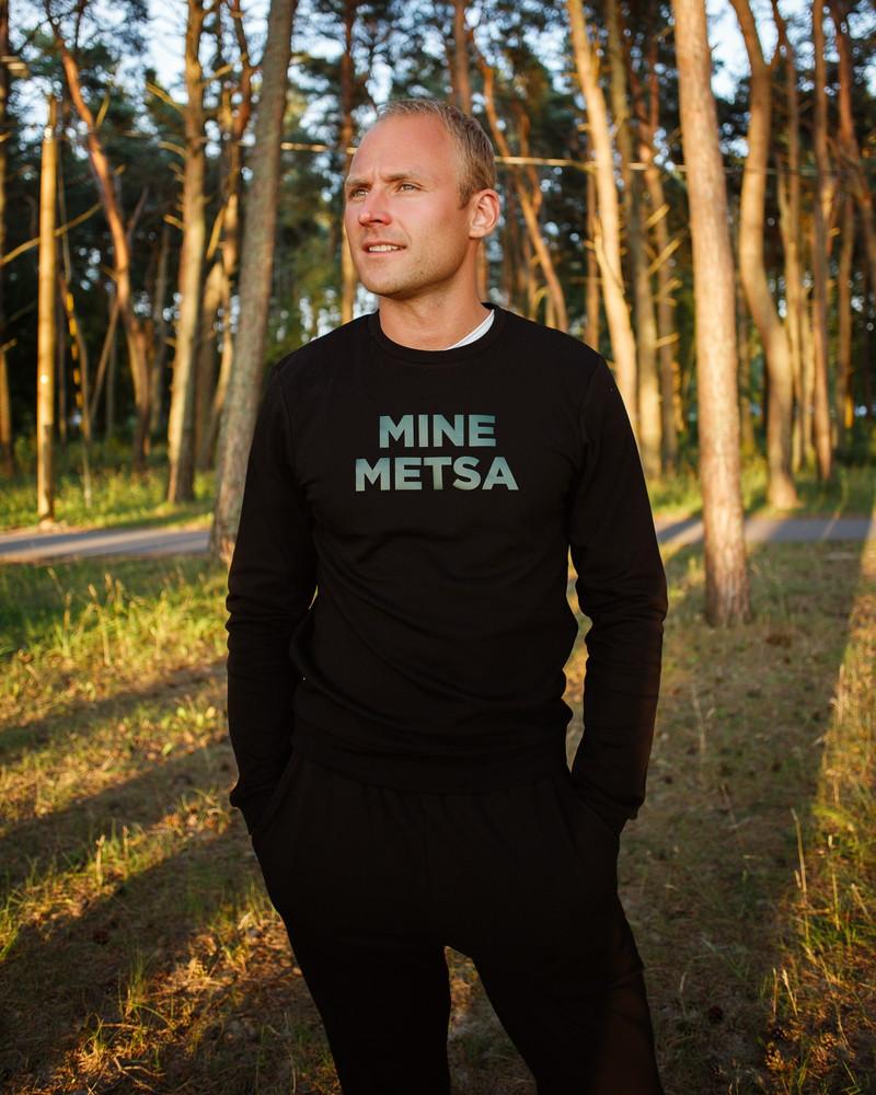 MINE METSA SWEATSHIRT BLACK