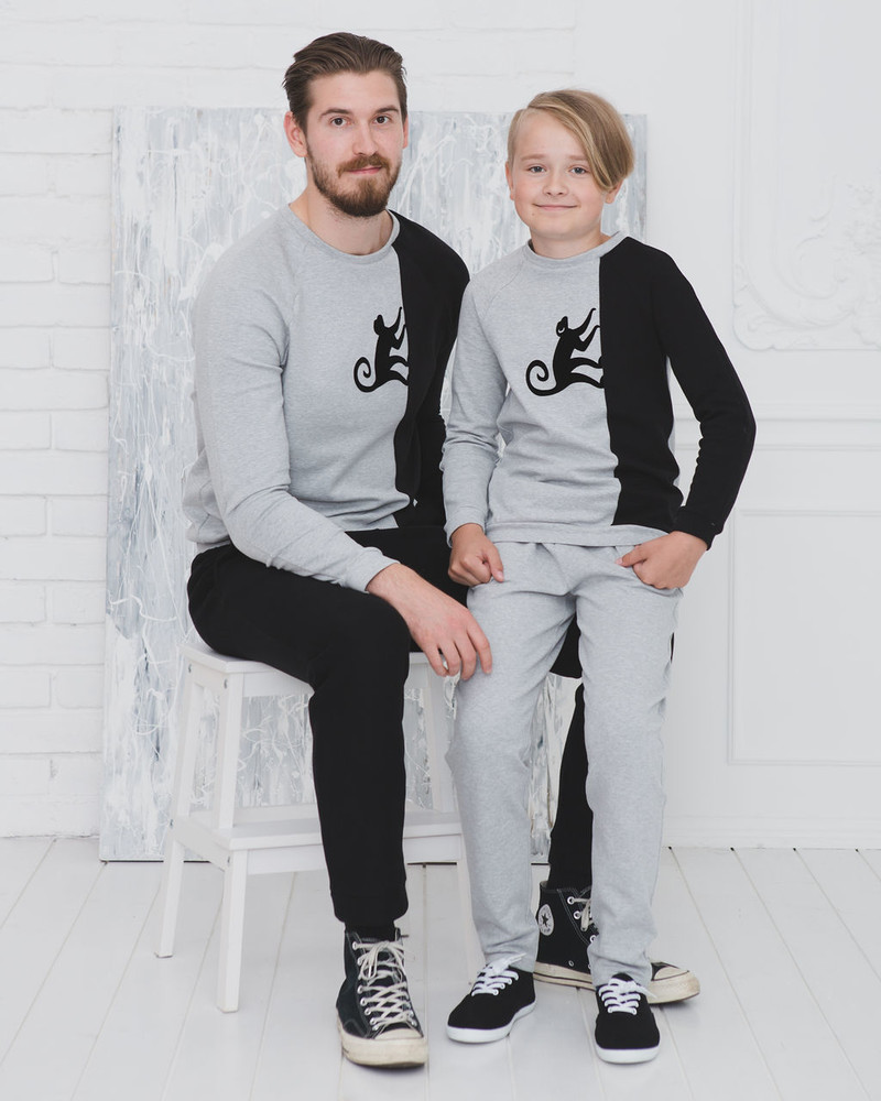 KIDS SWEATPANTS GREY