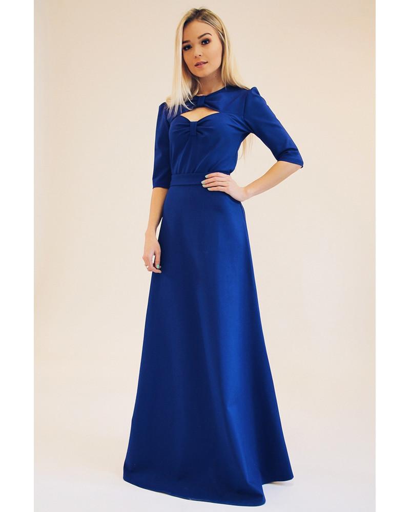MISS 50 MAXI DRESS BLUE