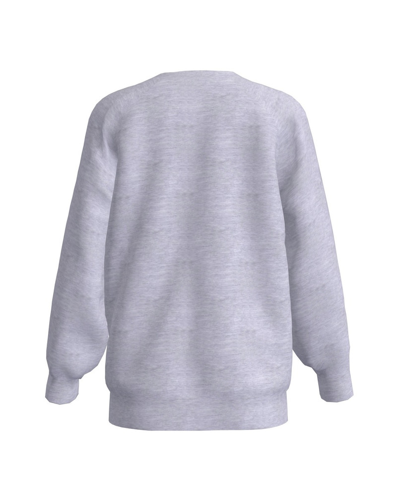 LETTER I KIDS SWEATSHIRT LIGHT GREY