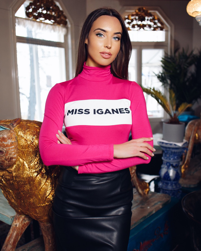 MISS IGANES PULLOVER FUCHSIA
