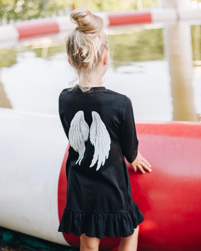 ANGEL KIDS DRESS BLACK