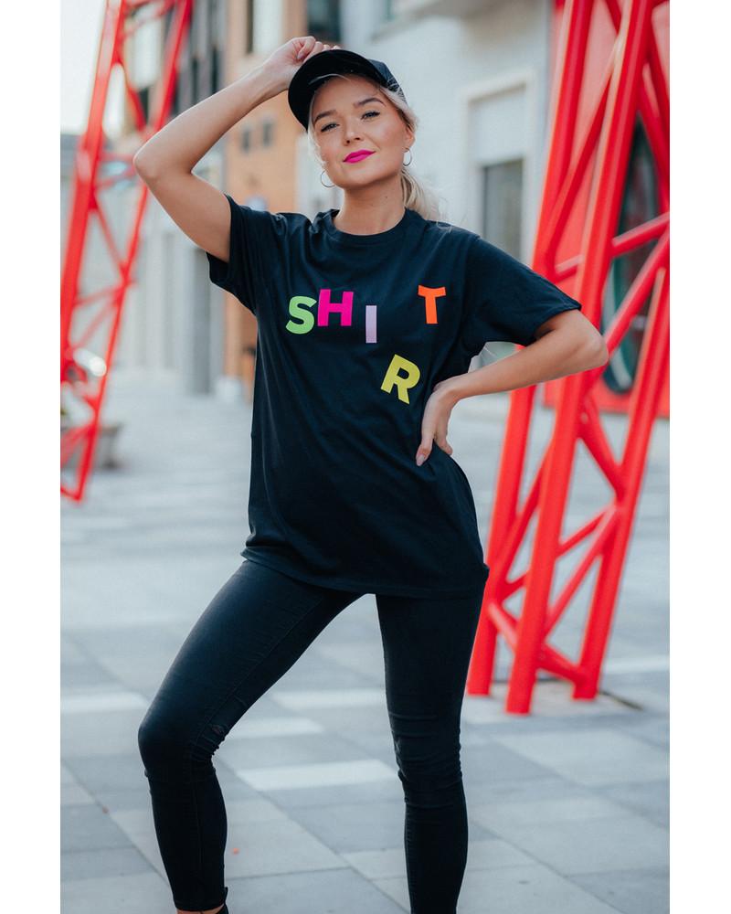 SHI(R)T UNISEX T-SHIRT BLACK