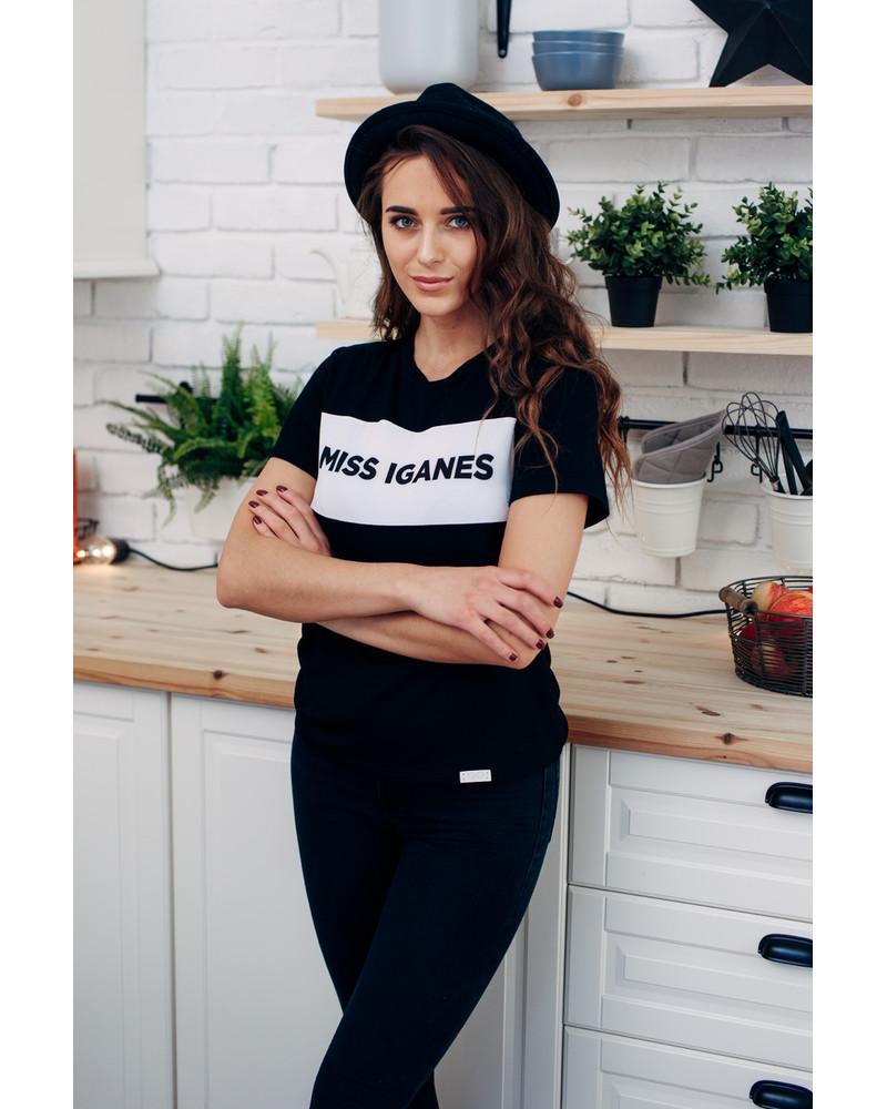 MISS IGANES T-SHIRT BLACK