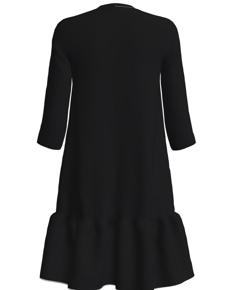 KITTY FRILL DRESS BLACK