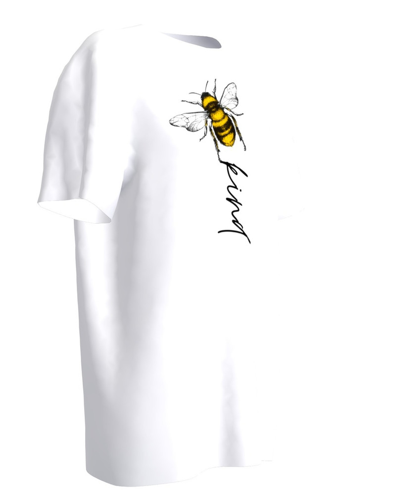 BEE KIND WHITE T-SHIRT