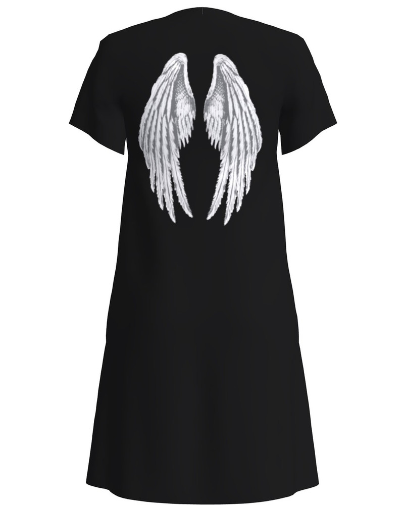 ANGEL DRESS BLACK