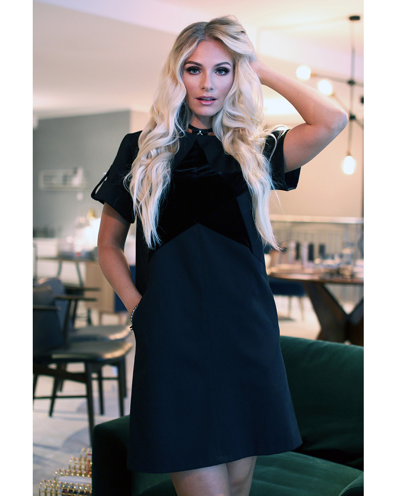 BLACK STAR BLACK DRESS